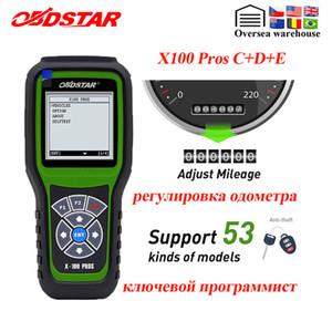 OBDSTAR X100 PROS Auto clé programmeur C + D + E, y compris EEPROM X100 Pro pour antidémarrage + correction odomètre + OBD Remplacer X 100 PRO