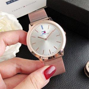 40mm Lady montre en or rose Montre Lady célèbre Vente en gros usine Prix bas cadran rond Montre simple mode cadeau pour les filles.