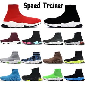 Calza scarpe uomini donne scarpe da ginnastica di velocità scarpe da ginnastica chiara unica Oreo noir bianco nero giallo prugna blu royal oliva rosso mens grigi scarpe formatori