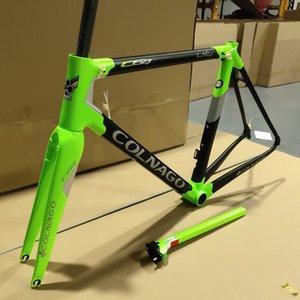 T1100 UD Noir Vert C6415 Colnago C64 cadres de vélo route de carbone Racing set Cadre de vélo 48/50 / 52/54 / 56cm