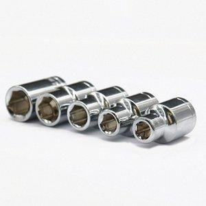 1pcs 1/2 pulgadas Drive 8 mm 9 mm 11 mm 13 mm 14 mm hexagonal Llave de cubo de cabeza Allen Llave de cabeza para el tornillo tuerca Extracción Auto Repair ECBH #