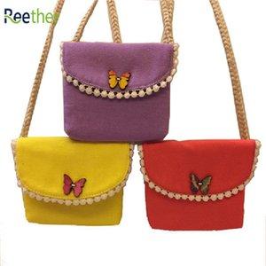 Reether Boucle papillon filles Petit Porte-Monnaie Mini Porte-monnaie pour enfants Kid Sacs à bandoulière Cadeaux Décoration