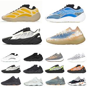 2020 Kutu Arzareth Azael Alvah Glow 700 v3 kadınlar Sneakers Oreo Dalga Runner Statik Allık Kemik 500 Basamak Ayakkabı Erkek Eğitmenler Boyutu
