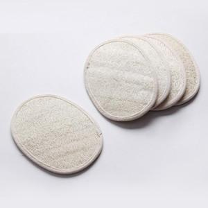 piel de la cara baño almohadilla ducha lavador loofah oval natural loofah retire la almohadilla muerto 13 * 18 cm HWF935