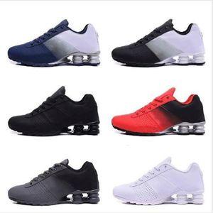 High quality 2020 New Shox Deliver 809 Men Running Shoes Famous Disorders Deliver OZ NZ Men Black Black Black Tennis Blue Air