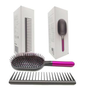 Dropship Nuove uscite spazzole per capelli Styling Set marchio disegnato districante capelli del pettine e spazzola piatta veloce 2022