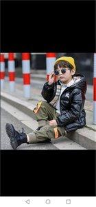 Kız Sıcak Kapşonlu Uzun Kollu Bebek Bebek Boys Ceket Çocuklar Parka Kabanlar için marka Çocuk Kış ceketler Aşağı Ceket