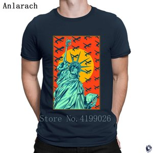 Corrosion of Liberty tshirts Gift Printing Casual simple men's tshirt Summer Style clothing summer top Anlarach Outfit