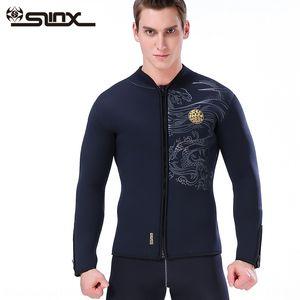5мм расколоть теплая теплая куртка костюм куртка SLINX замша утолщенной водолазный скафандр