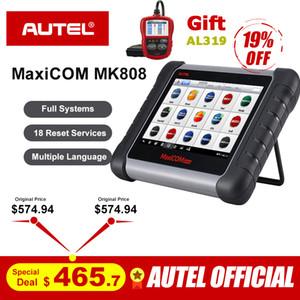 Autel MaxiCOM MK808 OBD2 Scanner OBDII Diagnostic Tool Automotive Code Reader Key Programming IMMO TMPS PK MX808