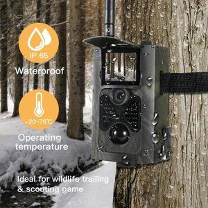 Wireless monitoraggio macchina fotografica di caccia 16MP 1080P Wild Animal di sorveglianza di visione notturna a raggi infrarossi macchina fotografica del gioco HC550A Foto Video Trappola Hunting gUKj #