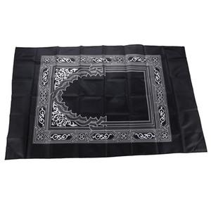 60 * 100cm Tapis de prière musulmane avec boussole prière étanche islamique tapis extérieur Portable Voyage prière musulman du Ramadan Mat Grand cadeau