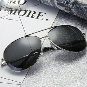 2020 New Polarized Sunglasses Classic Sun Glasses Coating Lens Driving Eyewear Men Vintage Aluminum For Men Women UV400