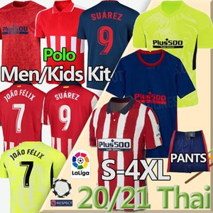 camiseta de fútbol tailandés 20 21 JOÃO FÉLIX Atlético de Madrid de fútbol jerseys Suárez CORREA KOKE Diego Costa Griezmann camiseta de Fútbol LLORENTE