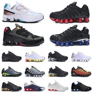 Nike Shox TL Nova Yeni Oturum OG TL Skepta Üçlü Gümüş Beyaz Pembe Shox Black Gold Volt Sunrise Kadın Erkek Eğitmenler Atletik Spor Sneakers Ayakkabı Koşu
