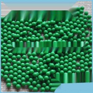 NpDc6 4-20mm olmayan gözenekli plastik yuvarlak akrilik gözenekli olmayan yuvarlak boncuklar çocuk oyun plastik boncuklar