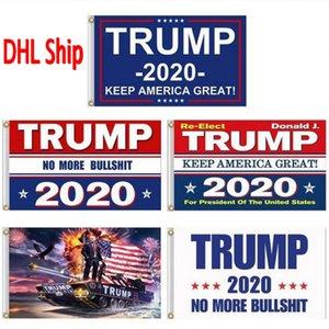 Halten Präsidentenkampagne Banner Donald Trump Wahl 2020 Flagge Amerika Große Donald für Präsident Kampagne Banner 90 * 150cm Garten Flaggen