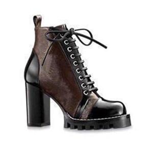 Louis Vuitton LV shoes Luxe Femmes Bottes Impression Marque Martin Bottes Тарелка формный Botte De Neige Travail Botte Dame Blanche Bottes Дизайнер Hiver