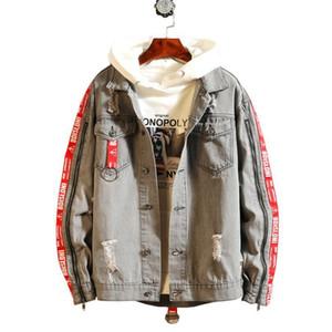 20ss Diseñador Denim Jacket Hombres Mujeres alta calidad Casual Abrigos Negro Azul Jeans hombre de la moda del estilista de la chaqueta para hombre de la ropa del tamaño S-3XL
