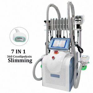 Спа салон Использование 360 Прохладный похудения Cryolipolisis локализованного жира Удаление LPG Эндермология Body Shaping Устройство лазера Потеря жира Оборудование EcN0 #