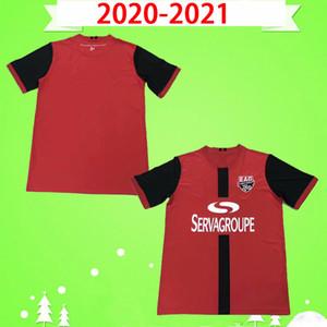 2020 2021 Генгам футбол Джерси 20 21 Главная Red NGBAKOTO Гомис NTEP Футбол рубашки PELE RODELIN формы