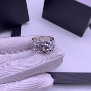 Vendita calda Tiger Head 925 sterling argento anello anello di tendenza personalità anello di tendenza di alta qualità amanti anello gioielli di moda fornitura
