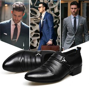 Mens Dress Shoes High Quality Shoes For Men Business Men Pointed Toe Slip-on Wedding Flat 38-45 Plus Size