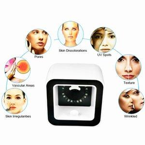 Inovação 2020 Magia portátil pele Analyzer cabelo para máquina e pele Analyzer câmera de alta resolução automática de reconhecimento facial