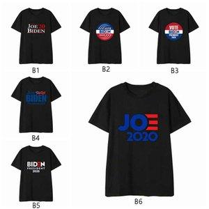 2020 Joe Biden T Shirt Presidente estilo de la moda de la elección de Demócrata del voto unisex de manga corta camisas de Jóvenes entallada de cuello redondo Imprimir VT1449