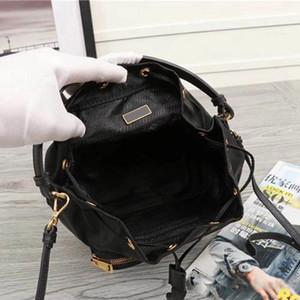 حقائب النساء حقائب جديدة دلو الكتف الأزياء حقيبة يد محفظة سيدة أكياس التسوق منقوشة الصدر سلسلة مستحضرات تجميل عالية الجودة كيس من النايلون CROSSBODY