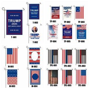 Президент Дональд Трамп Flag Make Keep US America Great Односторонний США Избирательного Патриотическое Открытое Украшение Баннер Сад Флаг DHB861