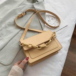 PU Ladies Chain For 2020 Bag Quality LONOOLISA Leather Hand Shoulder Summer Bags High Handbag Flap Croosbody Style Women Sac Ckisn