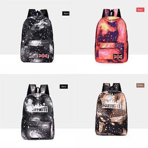 2020 GD mejor alta calidad del precio del totalizador del bolso de hombro Fortnite cielo estrellado Fortaleza Noche mochila escolar BAG 236 # 595