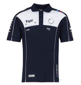 Racing champ de piste costume à manches courtes T-shirt de personnalisation costume cravate cyclisme été POLO costume équipe machine chemise haut séchage rapide