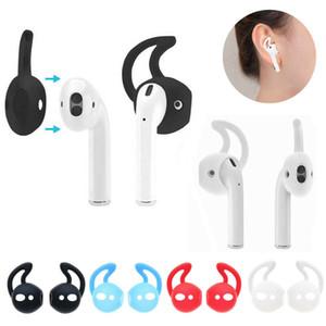 AirPods Silikon Kulak engelle In-kulak Kancalar Kulaklık Tutucu Kılıfı Antisilip Bluetooth Kulaklık İçin Rahat Kulaklık Aksesuarlar Wear