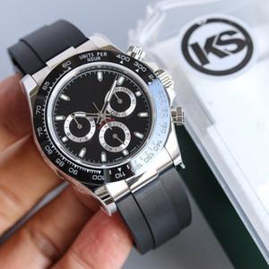 KS mens watch montre de luxe 40MM automatic 7750 movement men watches reloj de lujo relojes de lujo para hombre Watches V3