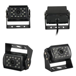 Truck Reversing Image 14 Lights Suitable for Bus and Truck Reversing Rear View Car Camera Waterproof Black-