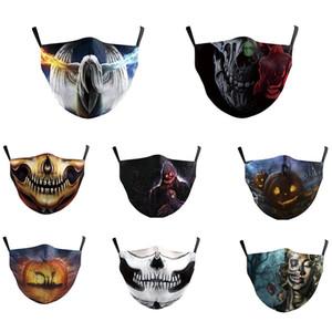 stilista maschera interessanti riutilizzabili bocca sorriso maschera facciale che mascarilla faccia scudi con 2 filtri maschera per adulti lavabile