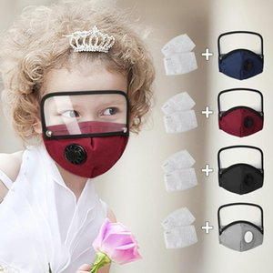 Creativity Cloth Face Mask For Child Removable Eyes Shield All-Around Protection Fashion Face Mask With 2 Filter New Creativity Mask GWC2376