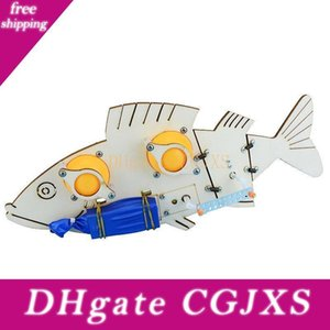 Diy Technology Small Production Invention Electric Bionic Mechanical Fish Gadgets Scientific Laboratory Equipment Made By Hand