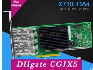 Placa de Rede X710 -Da4 Pci Fiber -E Servidor Com 4 -Ports Sfp