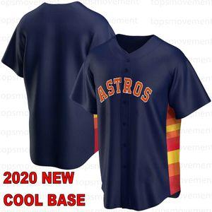 27 José Altuve 2020 Homens Baseball Jerseys 2 Alex Bregman Carlos Correa Nolan Ryan George Springer personalizado Jeff Bagwell Chipper Jones