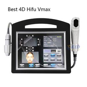 Dispositivo profesional 4DHIFU + VMAX Dispositivo de arrugas Levantamiento de cara y cuerpo Slimmin 1 tiempo 12 líneas Máquina de hifu de ultrasonido enfocado de alta intensidad