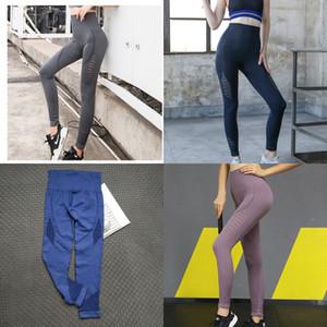 Neue Hüfte Hebt hohe Yoga 9-Punkt-9-Fen ku 9 Fen ku Taille Fitness-Sport 9-Punkt-Hose nackt Gefühl keine Verlegenheit Linie fest qui läuft
