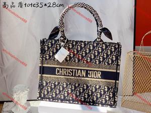 Dior bag Moda yeni sıcak tarzı alışveriş sepeti işlemeli tuval çanta lüks kaliteli çanta çanta kadın çanta