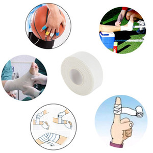 10M 50 38 25mm Cotton White Adhesive Athletic Tapes Wraps Sport Body Binding Physio Muscle Elastic Strain