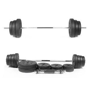 2PCS Plastik Kaplı Dumbbell Tabletler Ev Dumbell Piece kas Egzersiz Kondisyon Aletleri (1.5kg / Pc Delik Çapı 2.8mm Siyah)