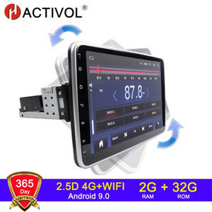 10.1 inch Android 9.1 Car Radio GPS Navigation 4G WIFI 2+32G Color Screen Car Radio Multimedia Video Player Rotation