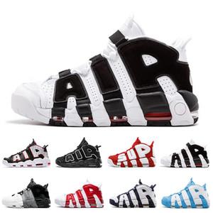 96 QS olímpica del equipo universitario de Maroon más zapatos de baloncesto de los hombres 3M Scottie Pippen Diseñador Uptempo Chicago entrenadores deportivos para hombre de las zapatillas de deporte Tamaño 40-46