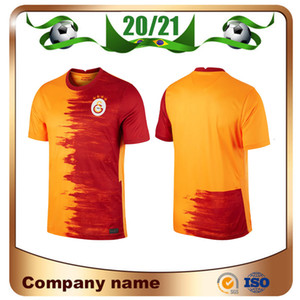 20/21 Galatasaray Futebol Jerseys 2020 Home Gomis Cigerci Belhanda Fernando FeGhouli Sneijde Oztekin Futebol Camisa Terceiro Futebol Uniforme